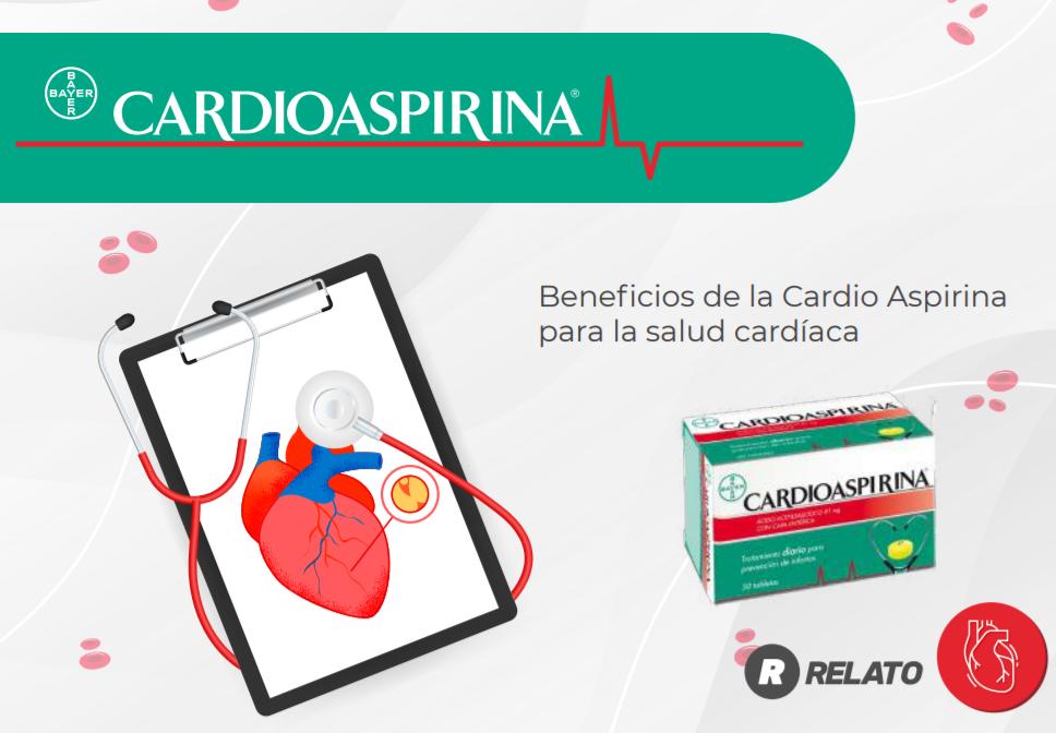 Protege tu salud cardiaca con ayuda de Cardio Aspirina imagen