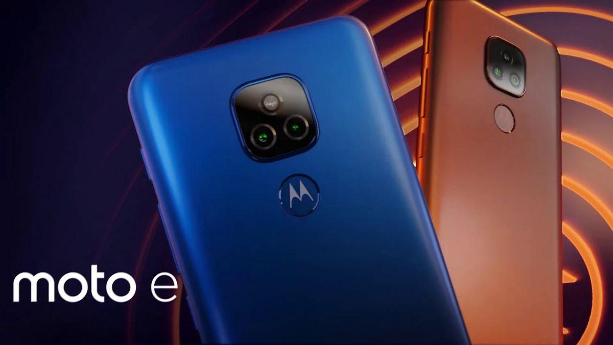 Conoce el nuevo Motorola E7 con procesador MediaTek imagen