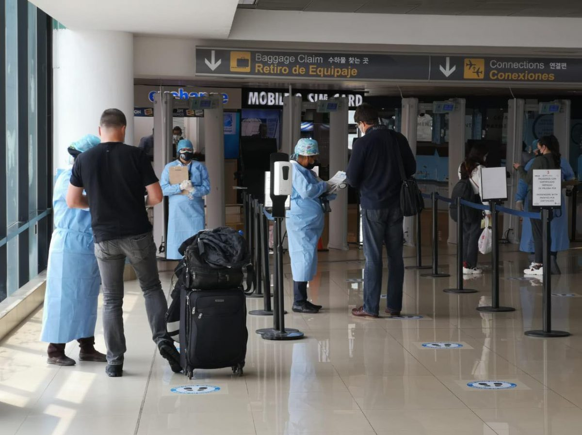 Ministerio de Salud actualiza lineamientos para ingresar a Guatemala por la vía aérea imagen
