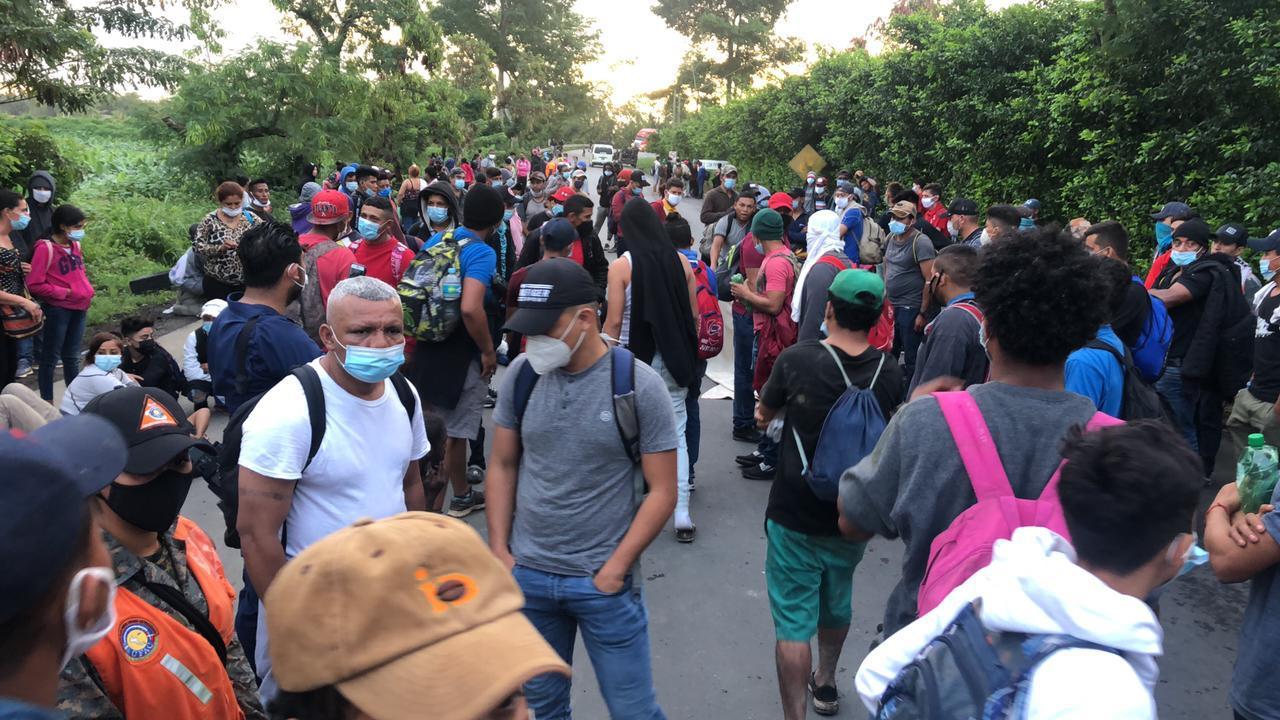 Caravanas de migrantes hondureños continuarán durante el  2021 imagen