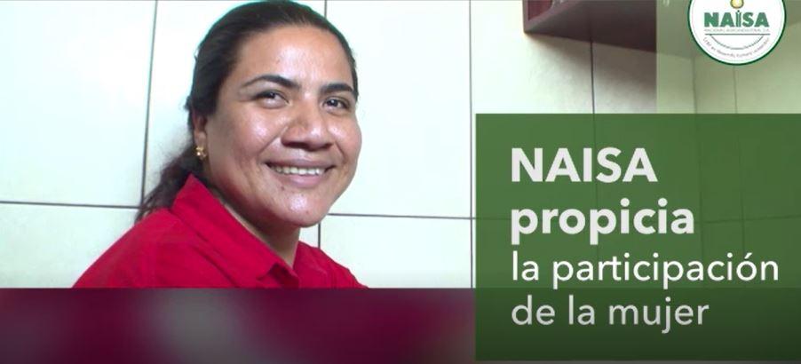 NAISA propicia la participación de la mujer imagen