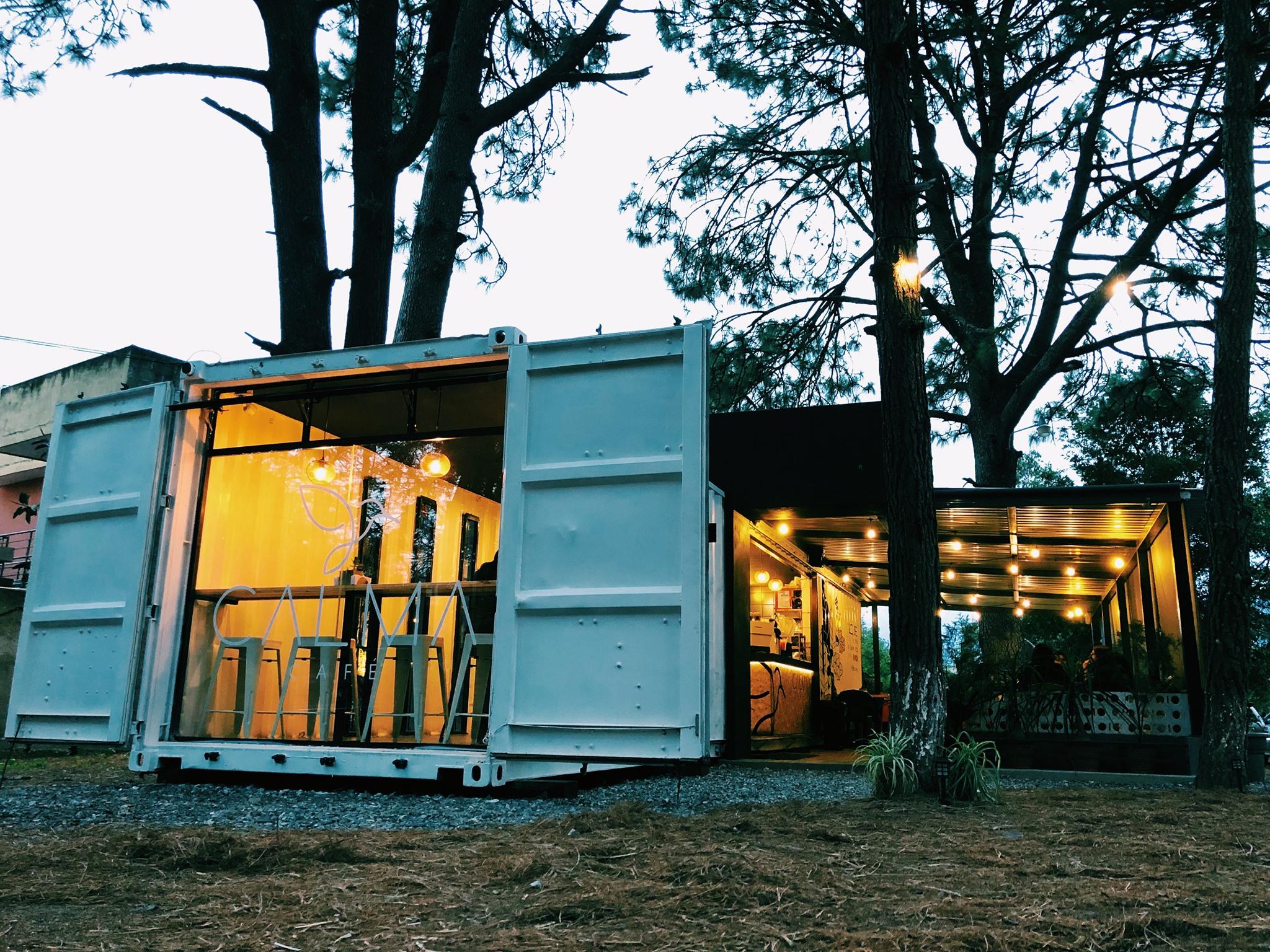 Calma Café, el emprendimiento huehueteco que usa contenedores y áreas verdes para brindar paz imagen
