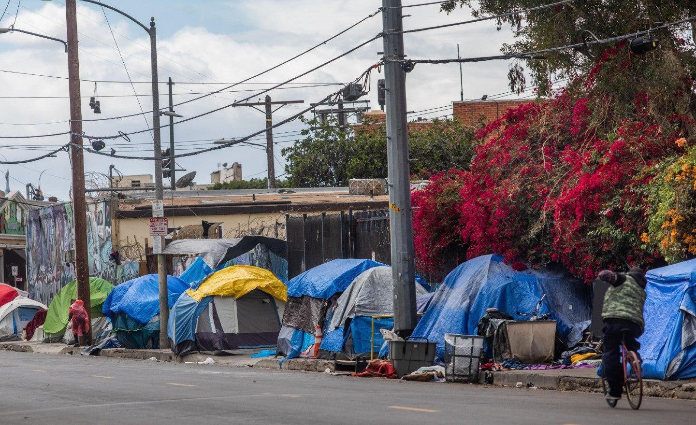 """Los """"Homeless"""" se han vuelto una plaga en Los Ángeles, California, luego de la pandemia. imagen"""