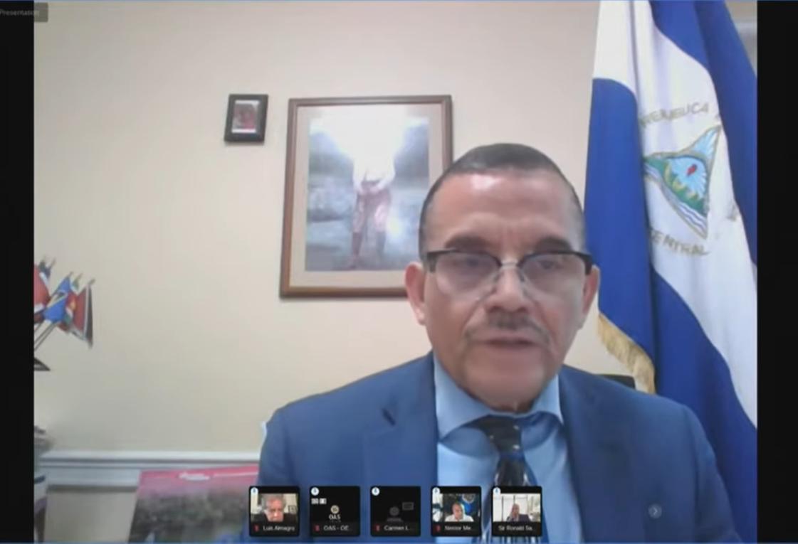 Nicaragua rechaza resolución de la OEA sobre arrestos y elecciones presidenciales imagen