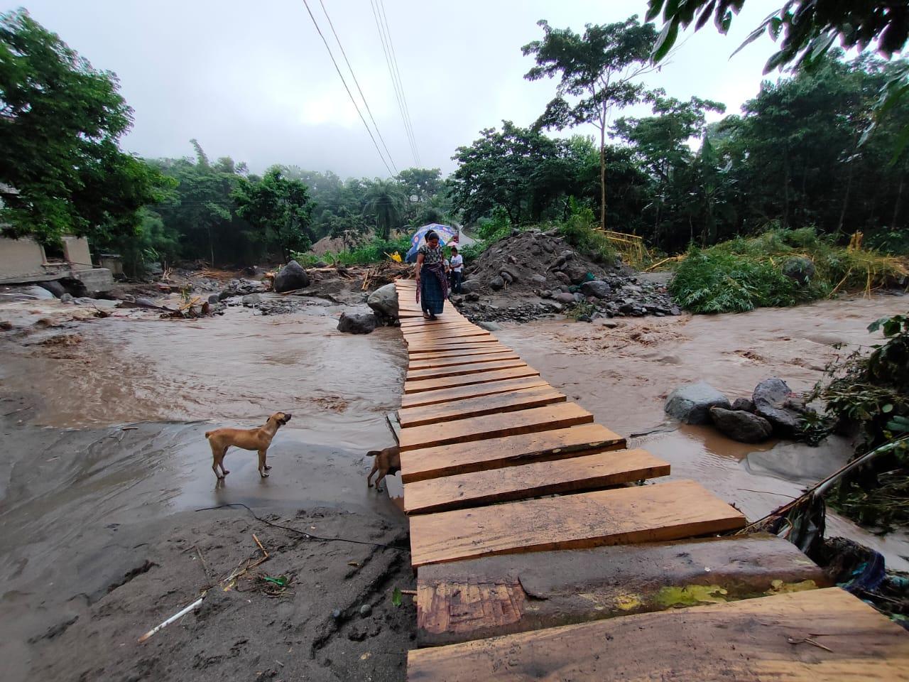 Lluvias causan estragos en Sololá y Alta Verapaz durante el fin de semana imagen