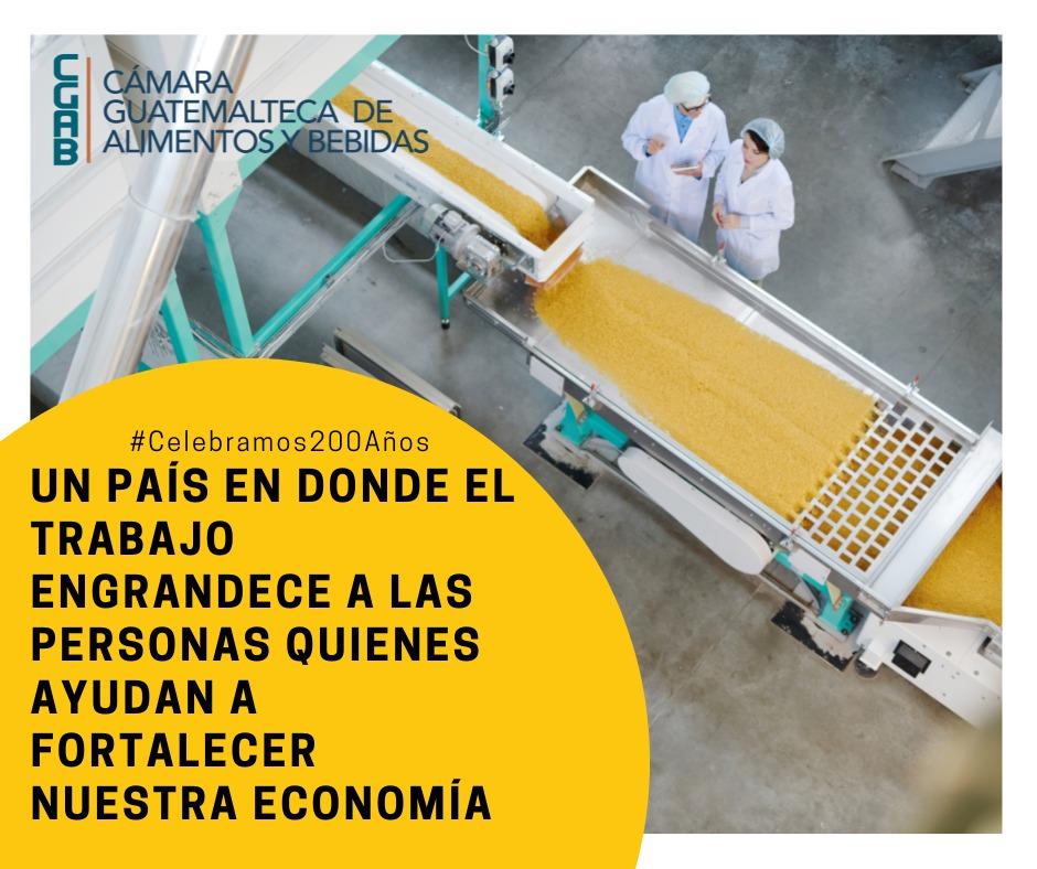 Fortalecer y desarrollar la industria de alimentos y bebidas es una forma de  generar empleo en Centroamérica imagen