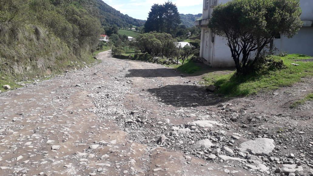 Ya no caben los agujeros en las carreteras marquenses imagen