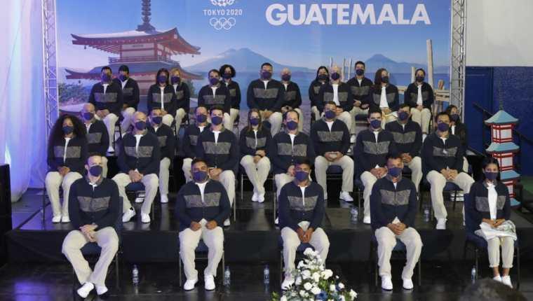 22 atletas representan a Guatemala en las Olimpiadas que inician oficialmente este viernes 23 de julio imagen
