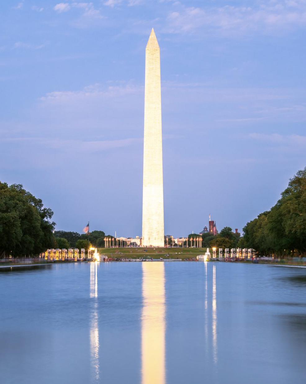 En Washington las historias se cuentan a medias imagen