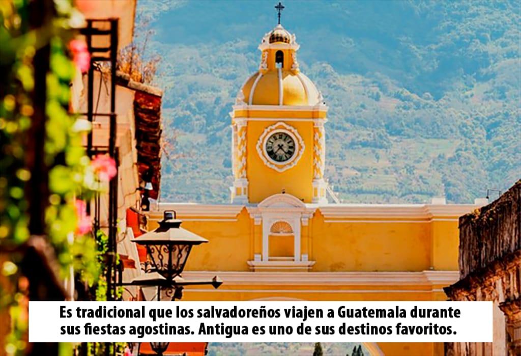 Salvadoreños aportan US$ 5.79 millones por ingresos al turismo Chapín imagen
