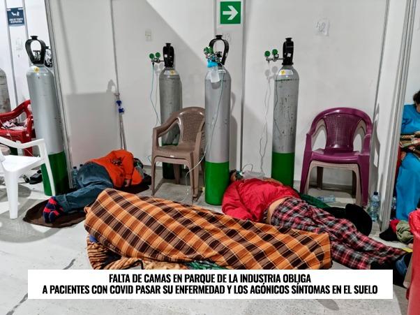 COLAPSO TOTAL EN GUATEMALA POR DESMEDIDO INCREMENTO DE COVID-19 imagen