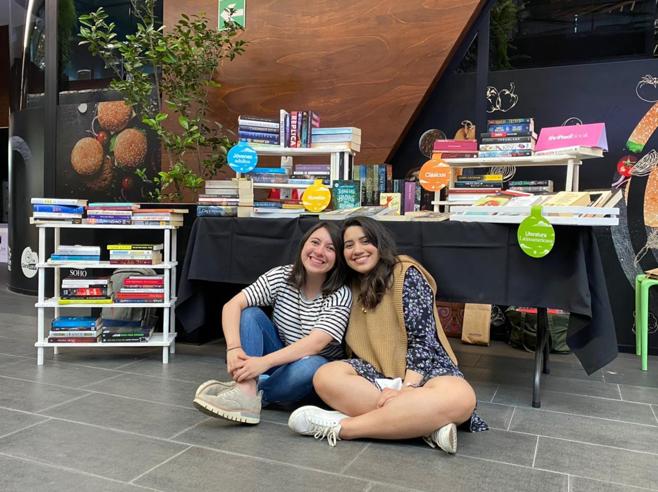 Las hermanas emprendedoras, por el amor  a la lectura imagen