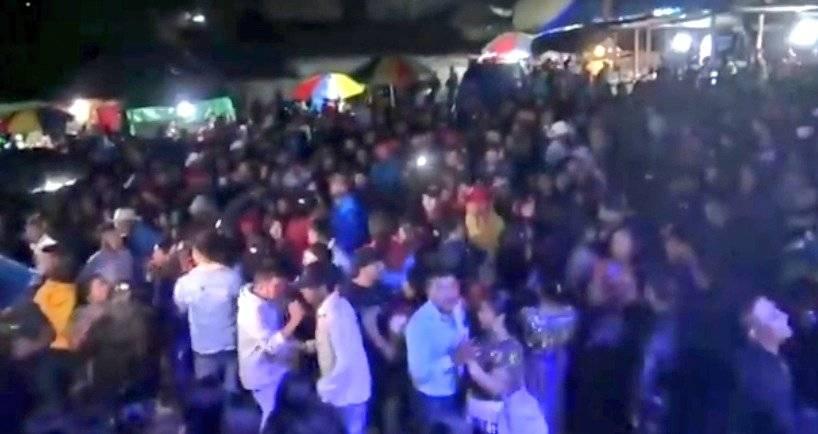 Las fiestas de la discordia en Quiché durante el toque de queda imagen
