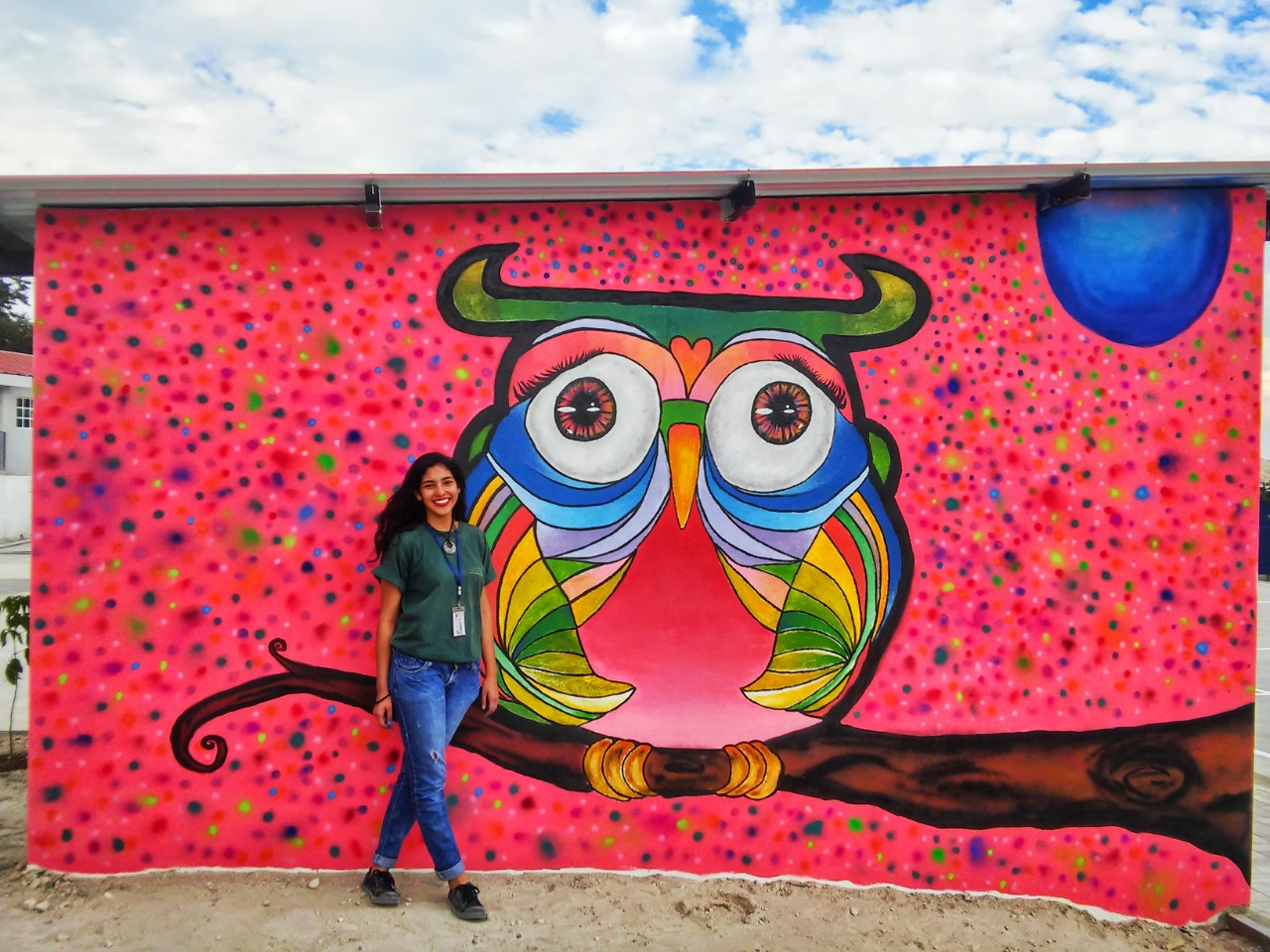 La Psicología y el Grafiti, dos mundos que Natalia une para ayudar a los guatemaltecos con su vida diaria. imagen
