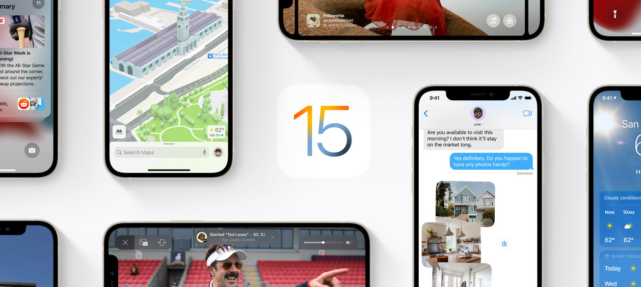 Hoy se lanzó IOS 15, la nueva actualización de Apple imagen