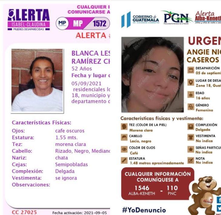 Angie y Blanca fueron encontradas sin vida y su seres queridos aún esperan por respuestas y justicia imagen