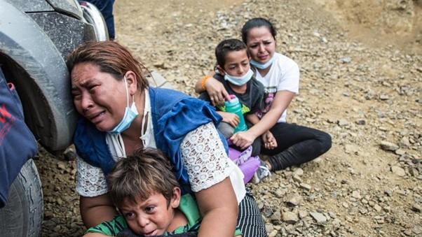 El drama de los migrantes imagen