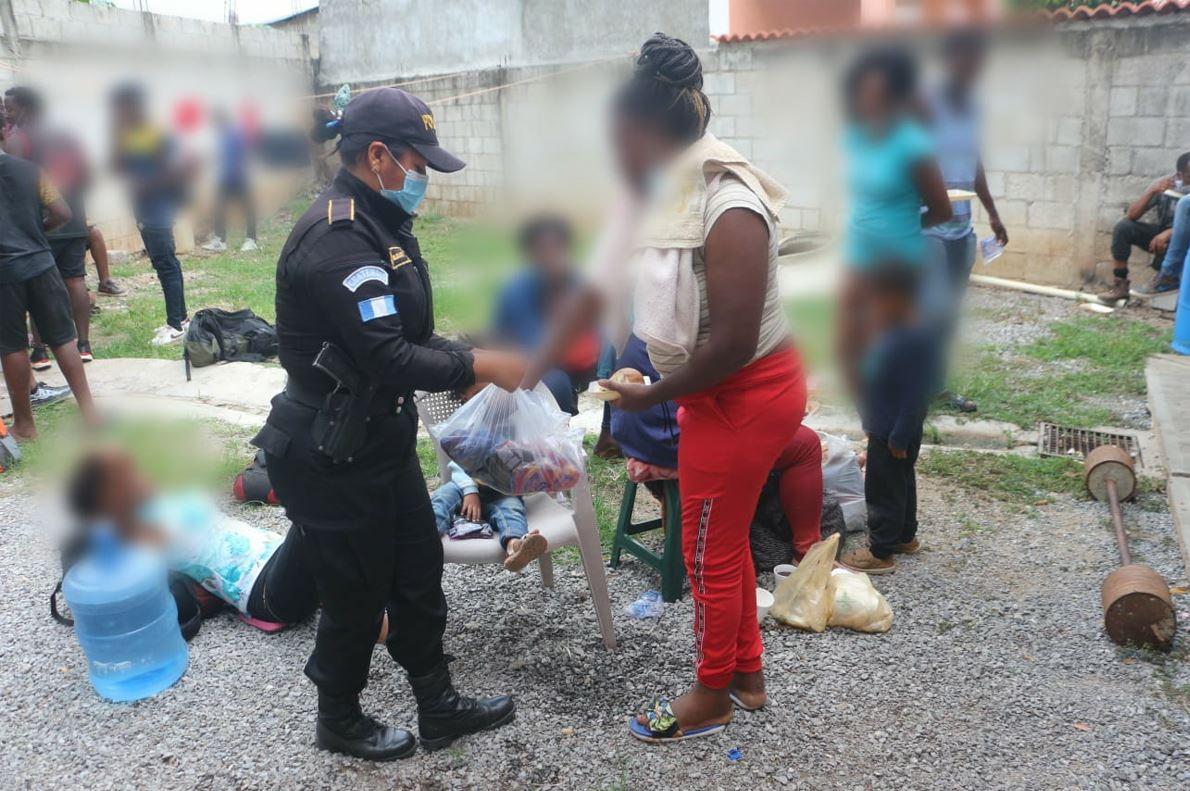 El éxodo de los migrantes haitianos para poder llegar al sueño americano imagen
